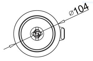B5290 - Halogen Flexy Circle