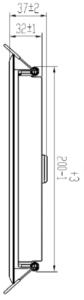 """929001444680 - CertaFlux DLM Slim 2000lm 850 8"""""""